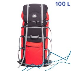 Рюкзак Fram-Equipment Osh 100L SS красно-черный (31021940)