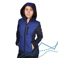 Women's SoftShell Jacket Crocus, Black-blue, XS, 510
