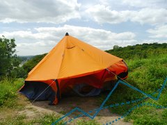 Expedition Marquee Tent CapSparrow for 7-8 persons, Orange, 5600